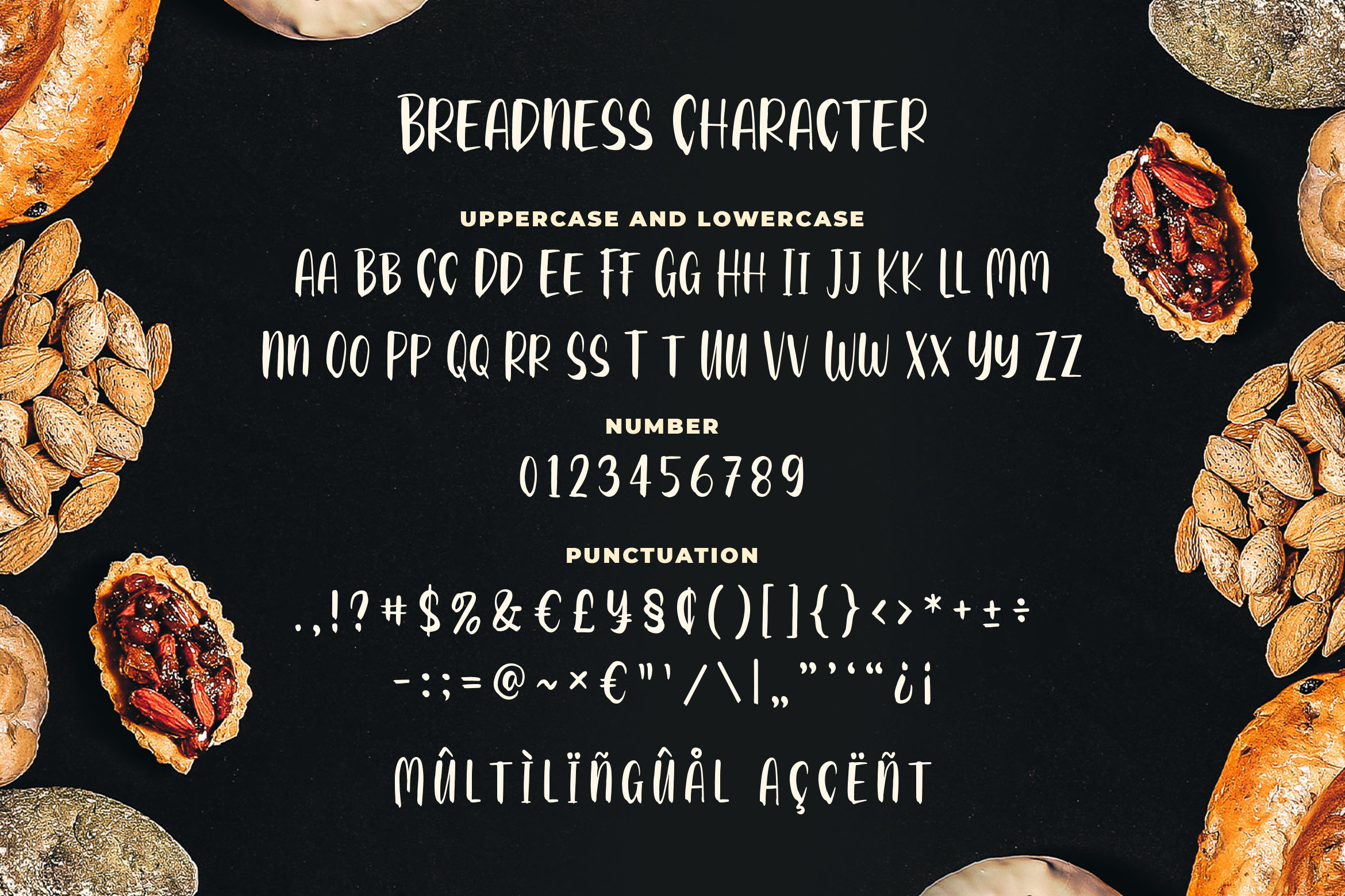 Breadness - a Delicious Font example image 4