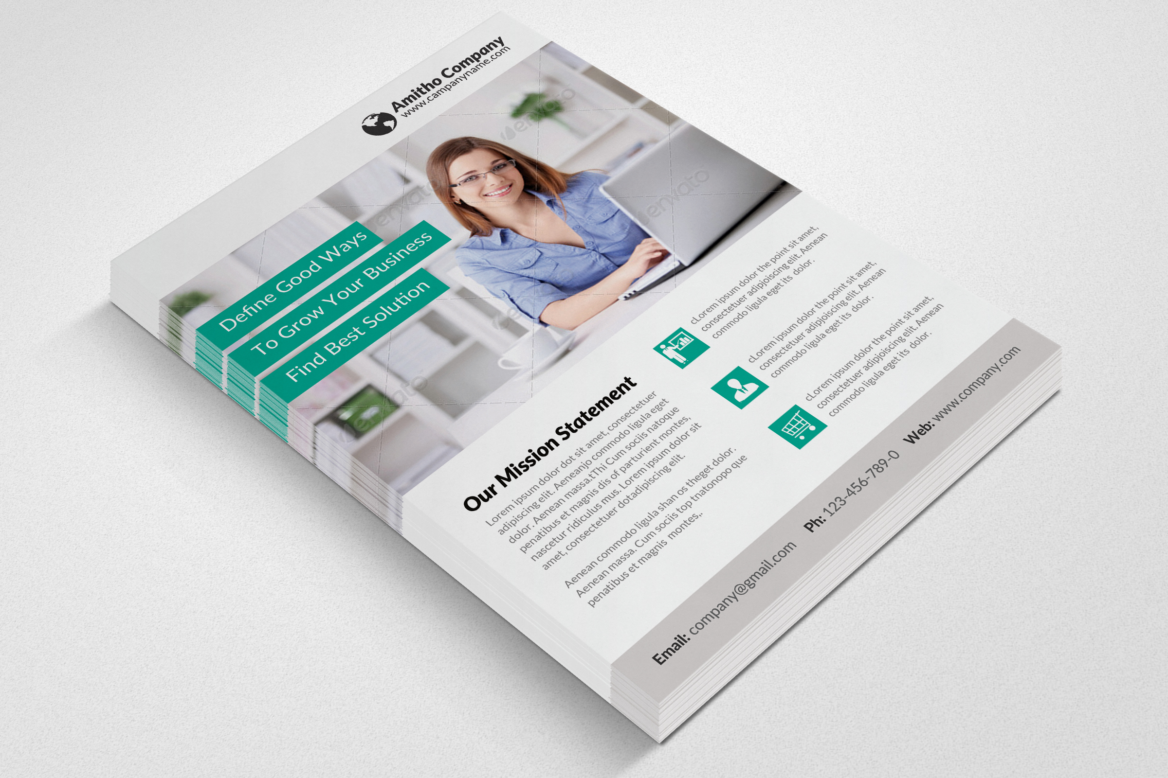 Business Analyst Flyer Template example image 3