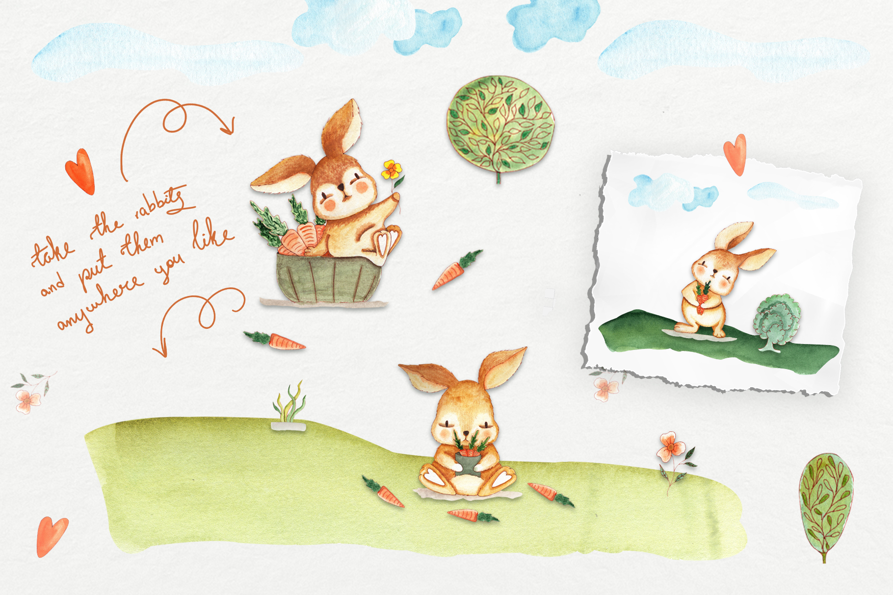 Bunny Camping Collection example image 2