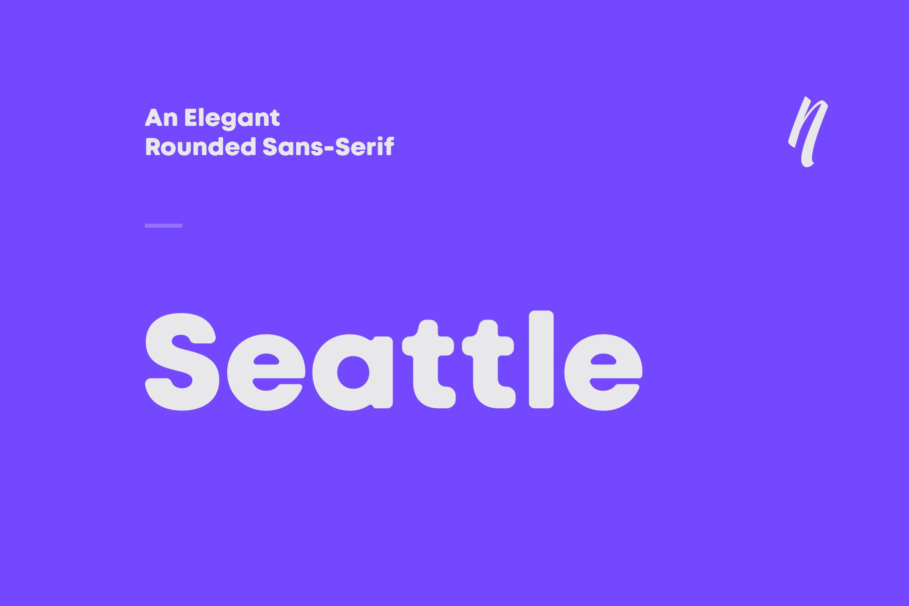 Seattle Sans example image 1