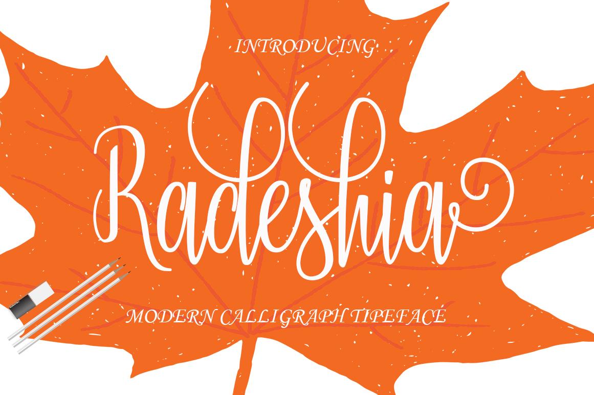 Radeshia example image 1