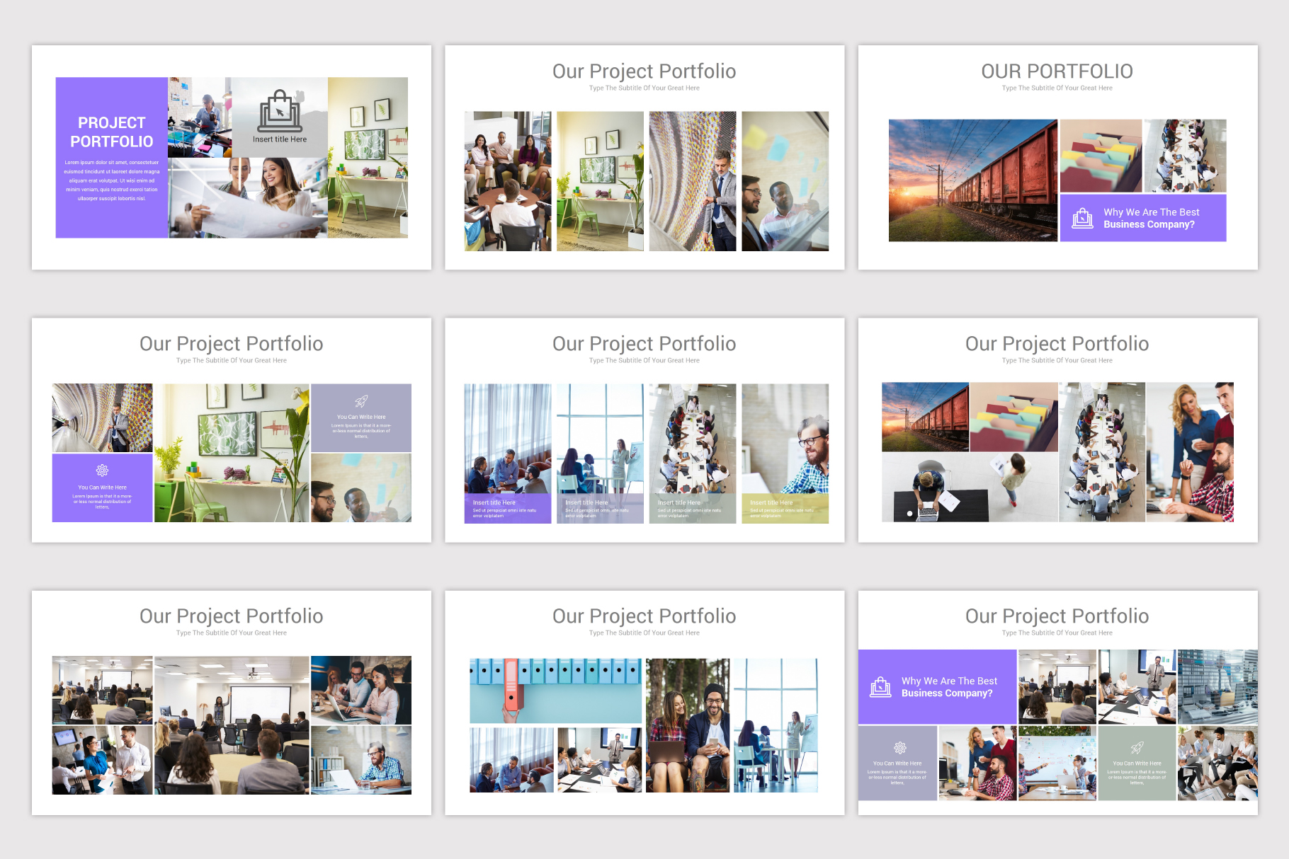 Company Profile Keynote Template example image 15