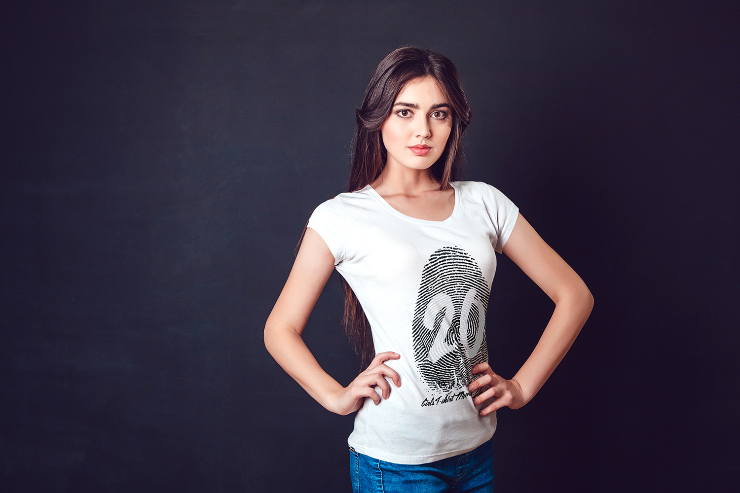 20 Top Girls T-Shirt Mock-Up example image 16