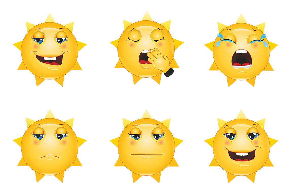Emoticons Sun example image 5