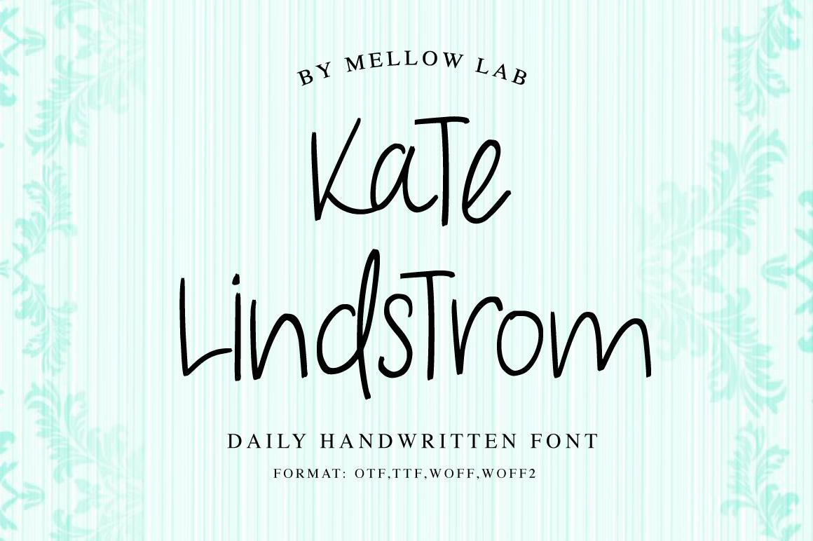 Kate Lindstrom Script example image 1