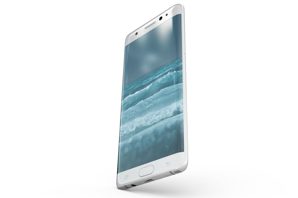 Samsung Galaxy Note 7 Gravity Mockup example image 6