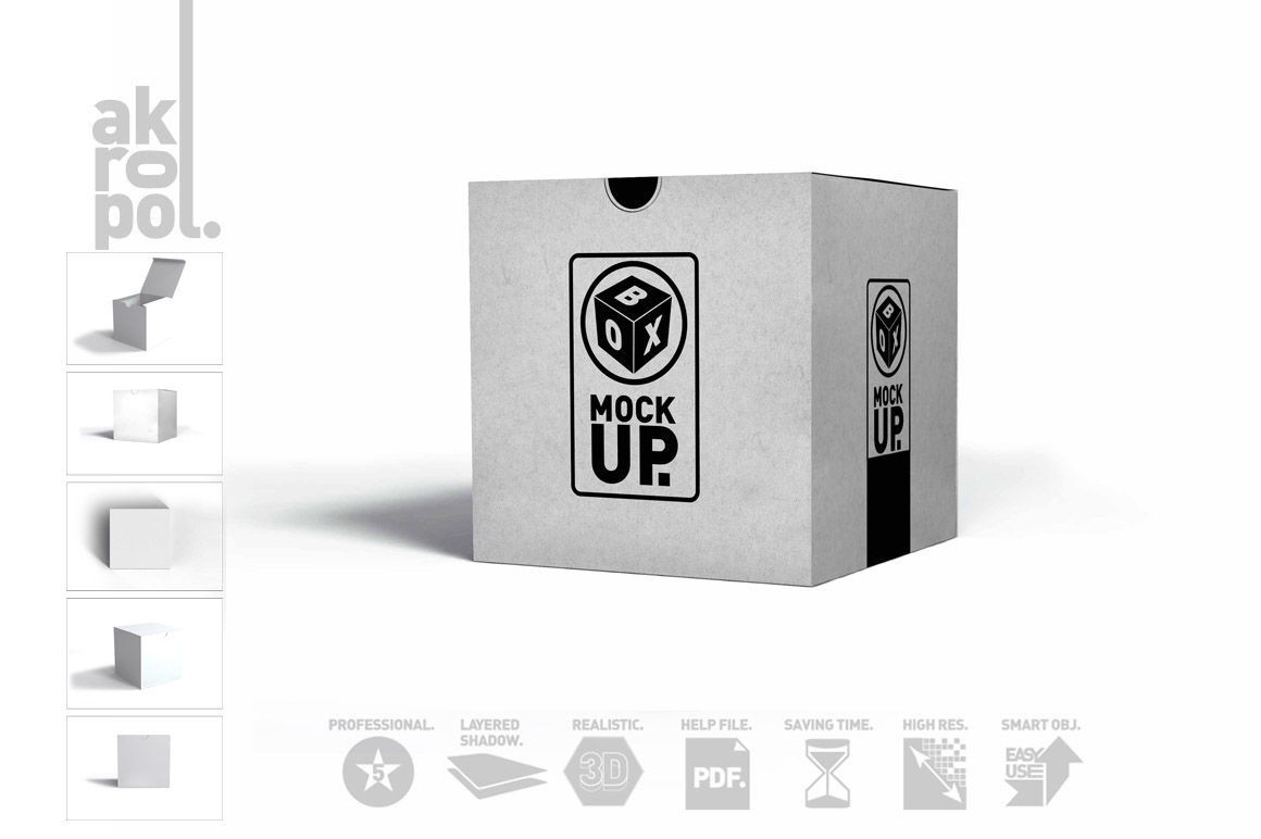 Package Box Mockups example image 9