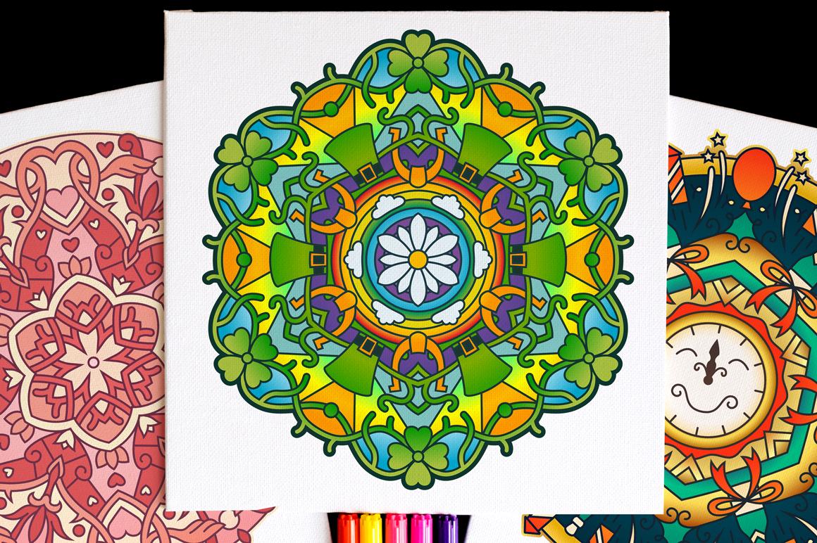 Seasonal and Holiday Mandalas example image 11