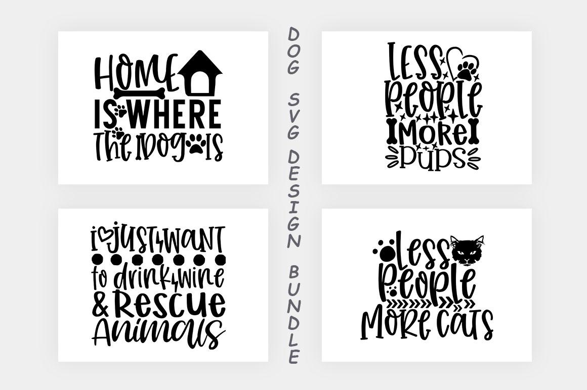 Dog SVG Design Bundle example image 5