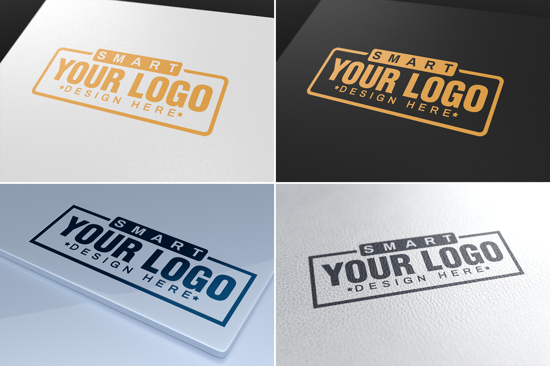 100 Logo Mockups Bundle Vol.3 example image 9