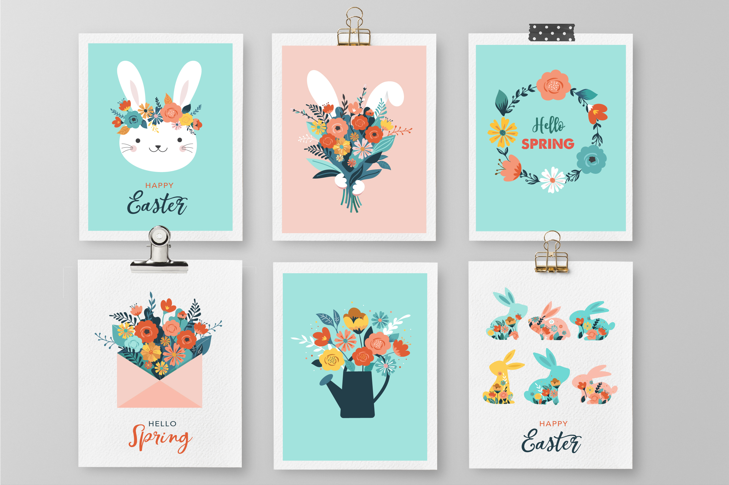 Hello Spring I Easter collection example image 2