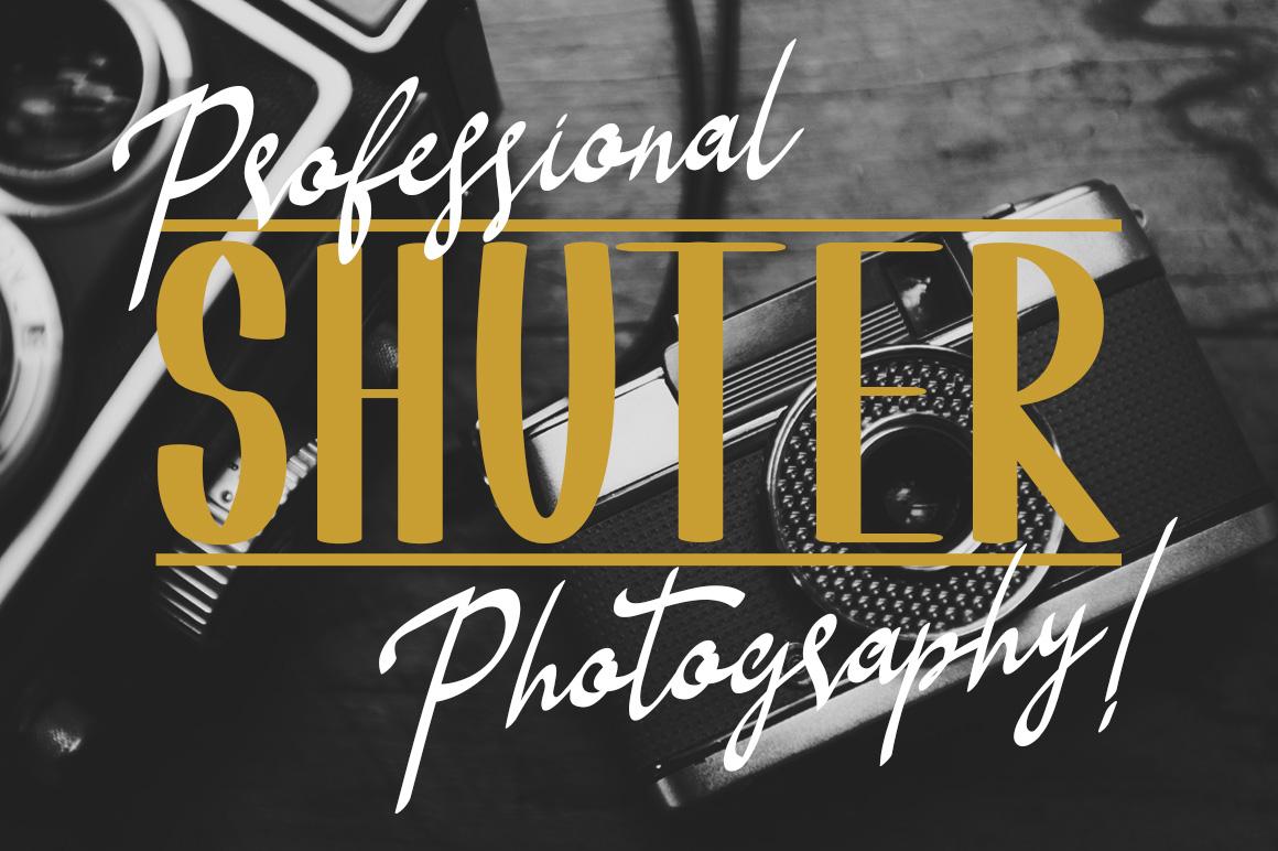 Shoneratty Chika Typeface example image 4