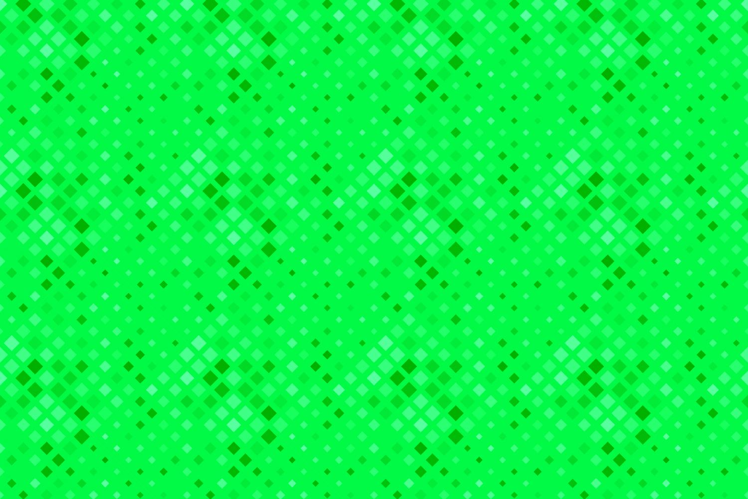 24 Seamless Green Square Patterns example image 25