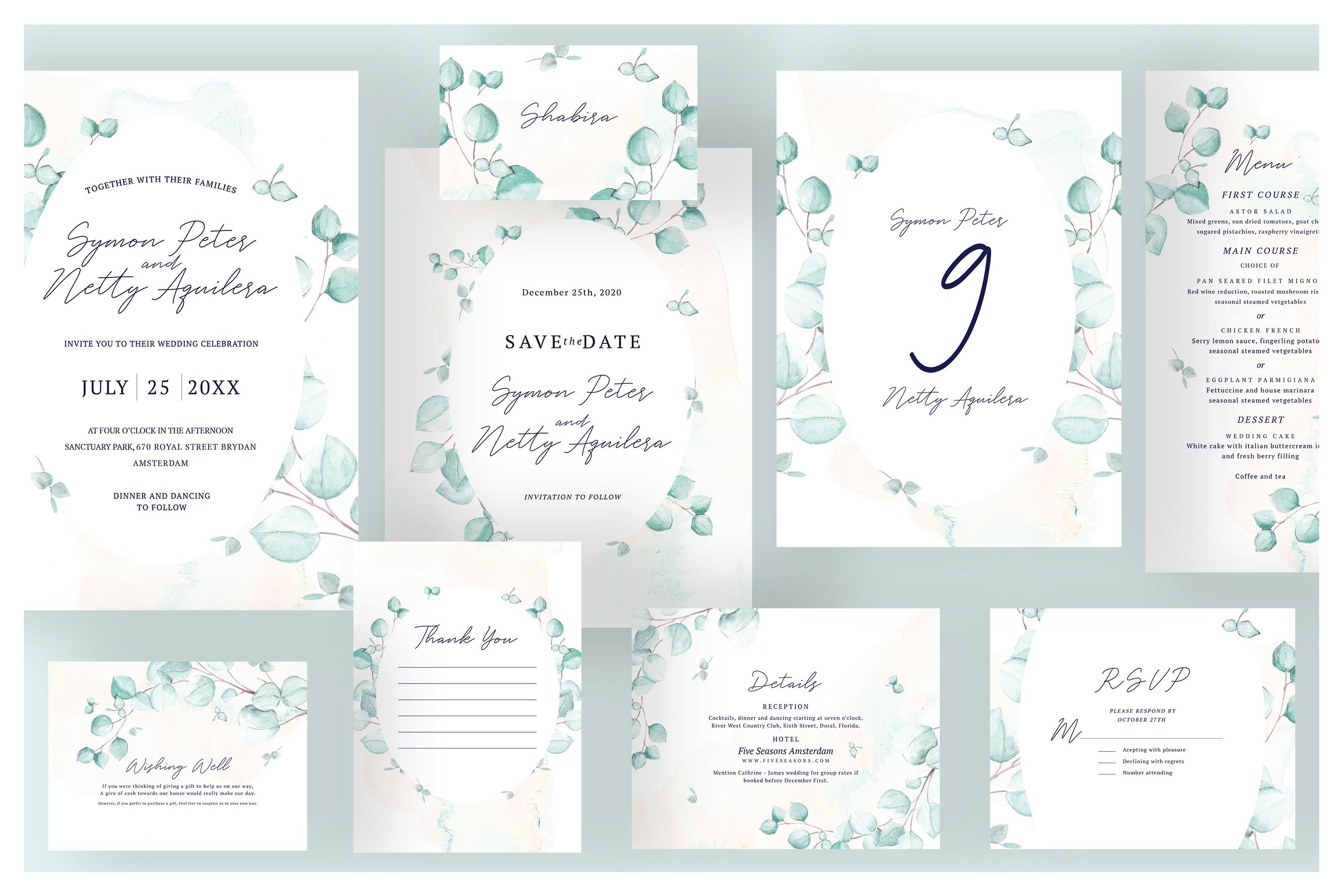 8 SET IN 1   Ultimate Wedding Bundle example image 5