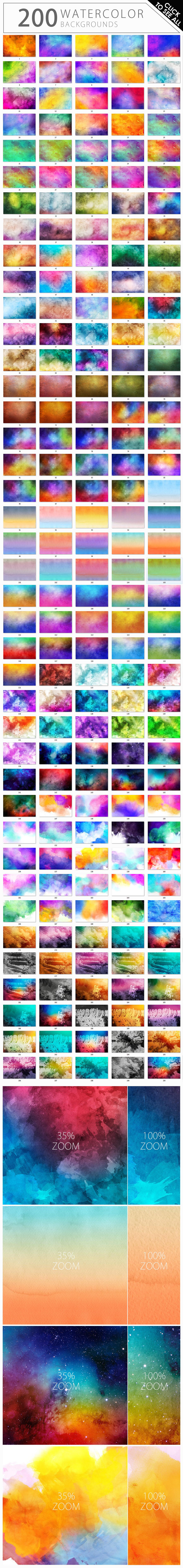 Supermassive Backgrounds Bundle example image 5