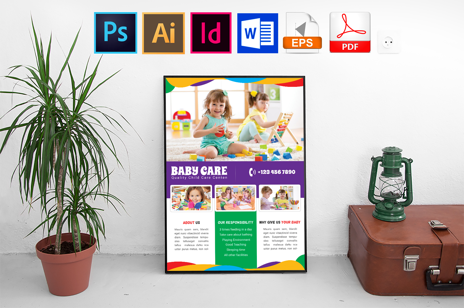 Poster | Baby Care Vol-02 example image 1