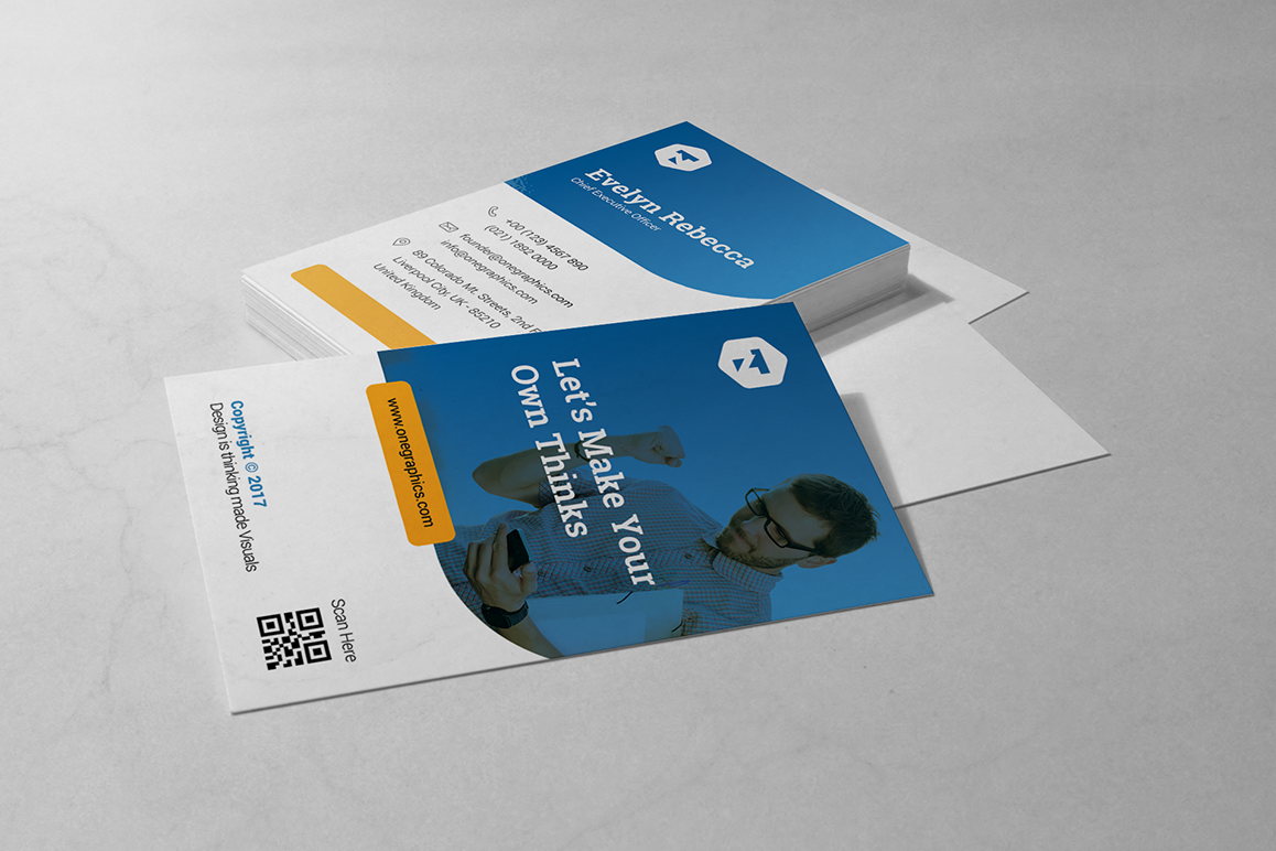 Minimal Business Card Vol. 10 example image 1