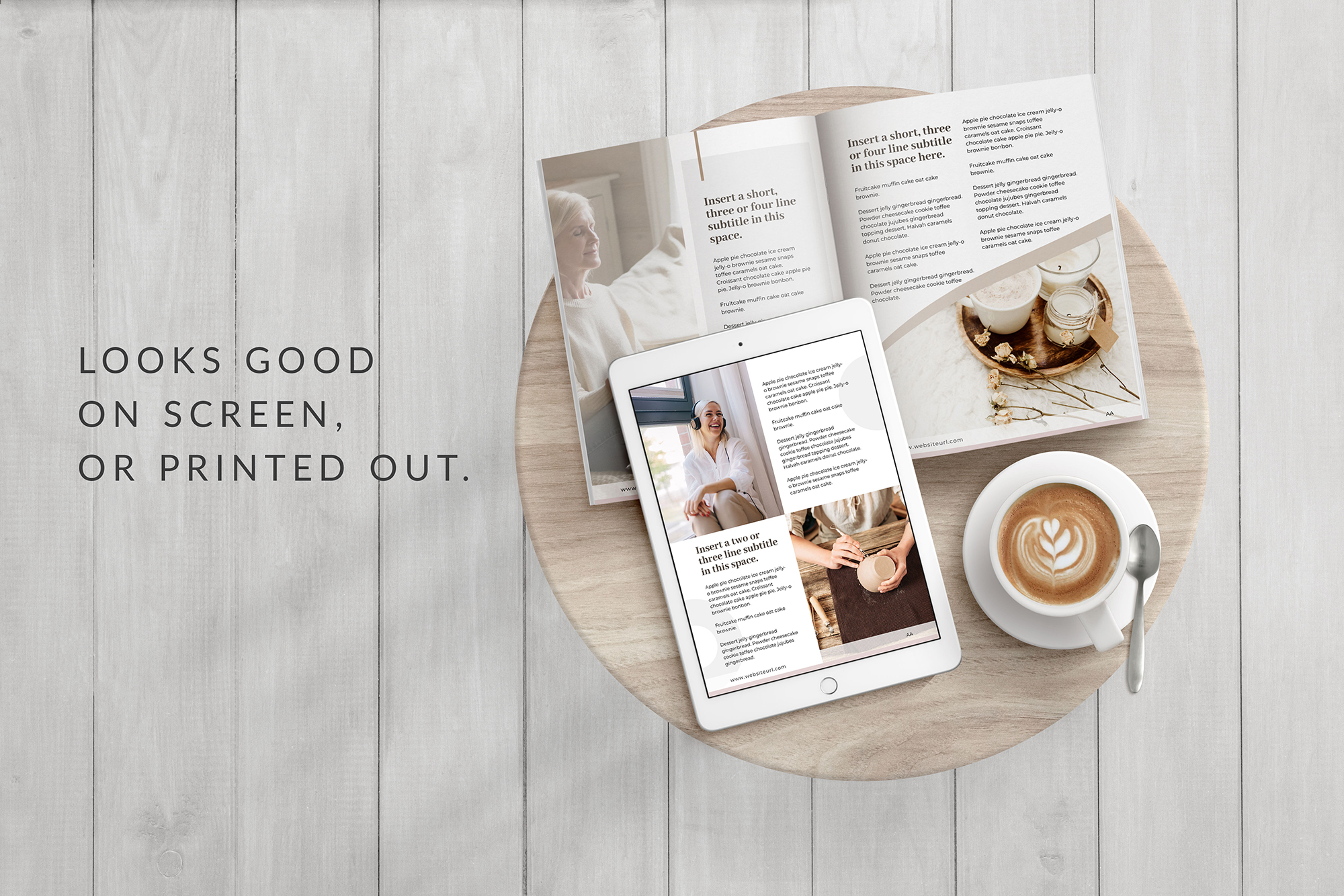 eBook or Lead Magnet Canva Template | Nordic example image 8