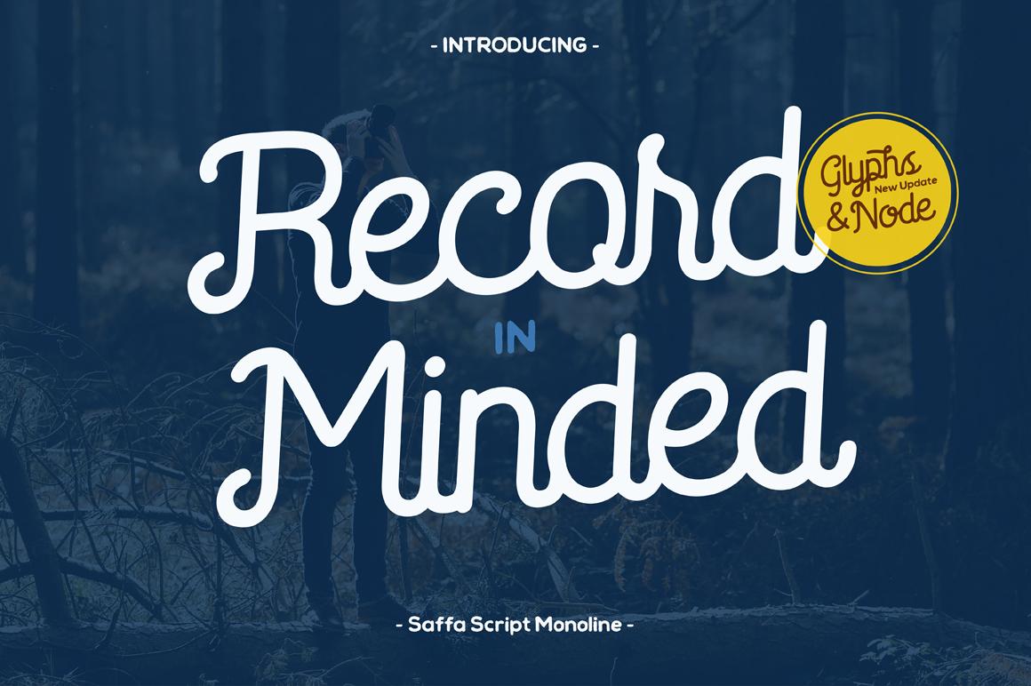 Saffa Recordminded example image 1