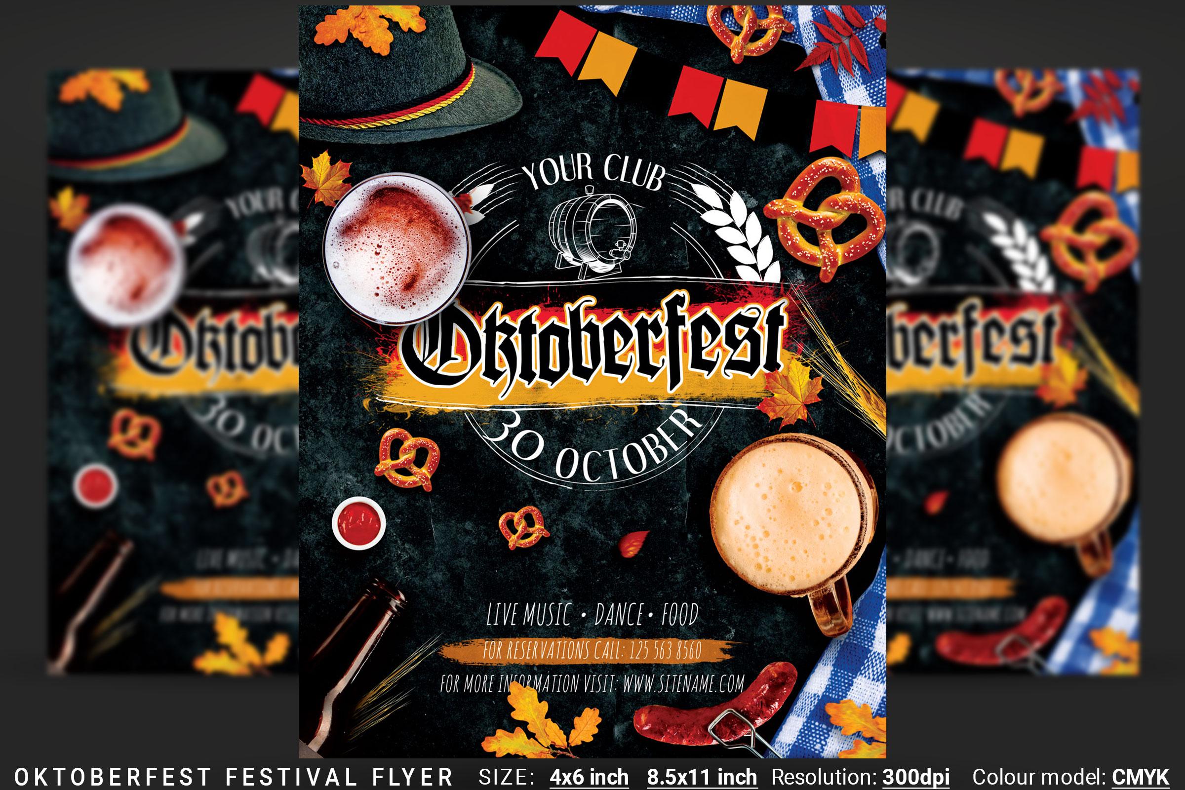 Oktoberfest Octoberfest Festival Flyer example image 1