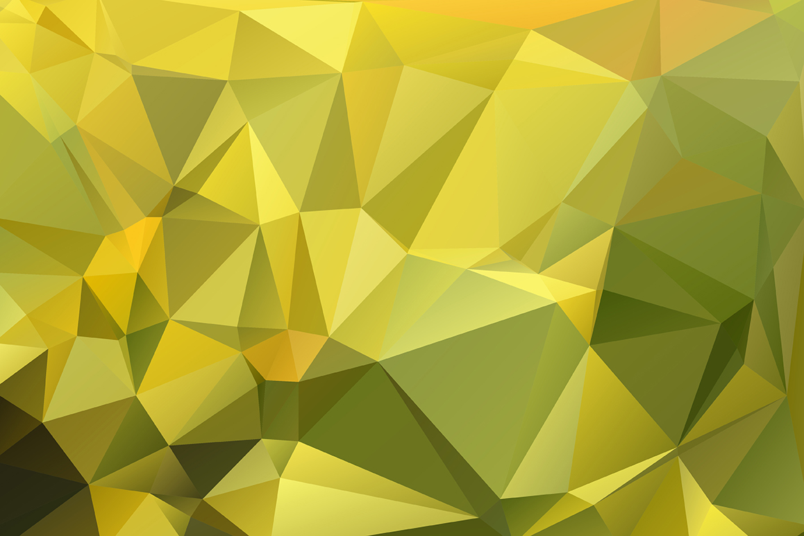 Polygon vector backgrounds set example image 19