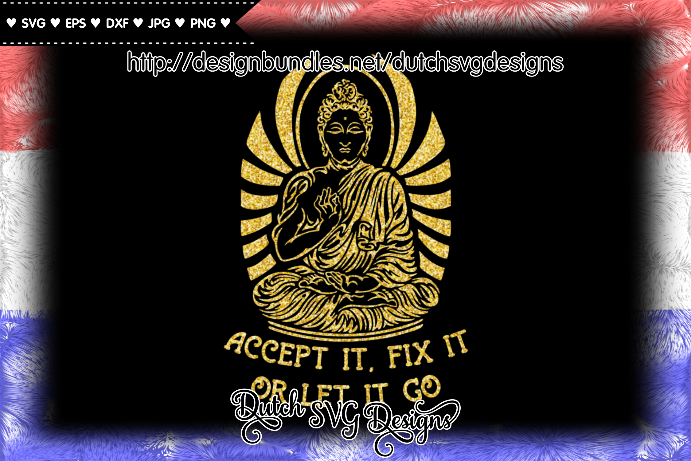 Text cutting file with buddha, buddha vector, buddha svg example image 5
