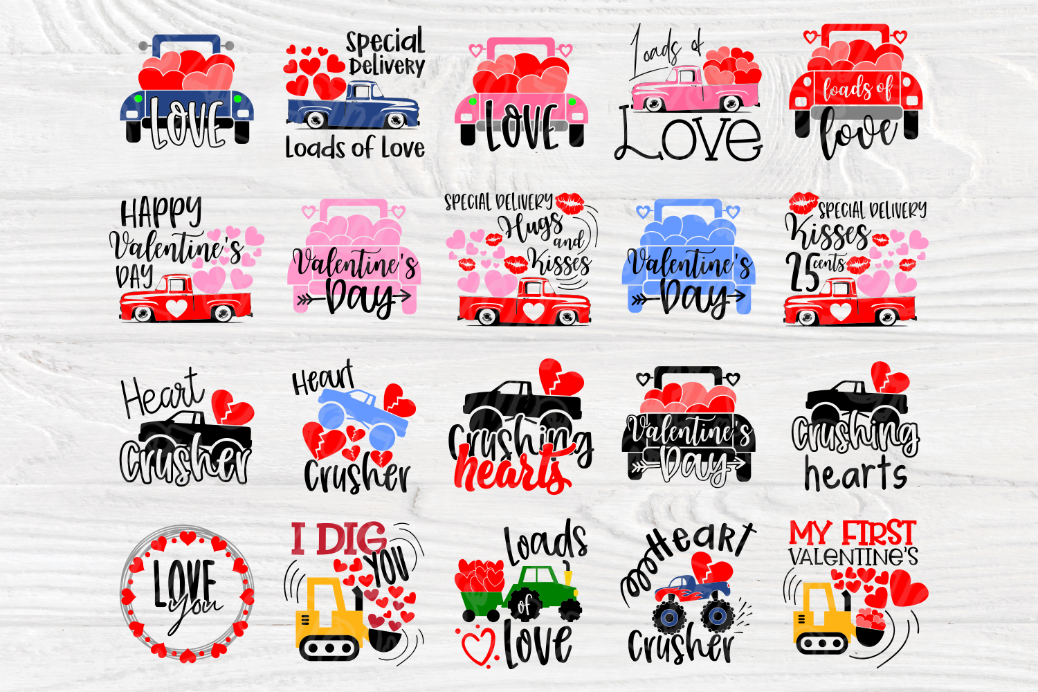 Love SVG Bundle | Valentine's Day | Cut Files for Crafters example image 2