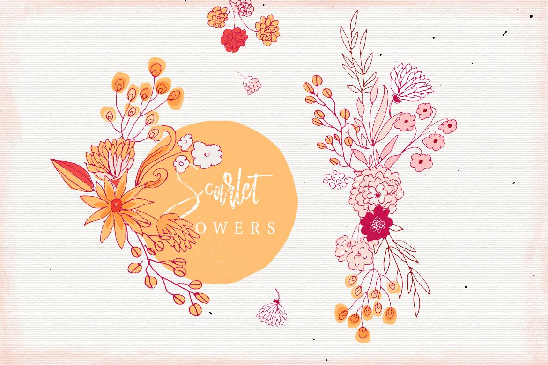 Scarlet Flowers example image 3