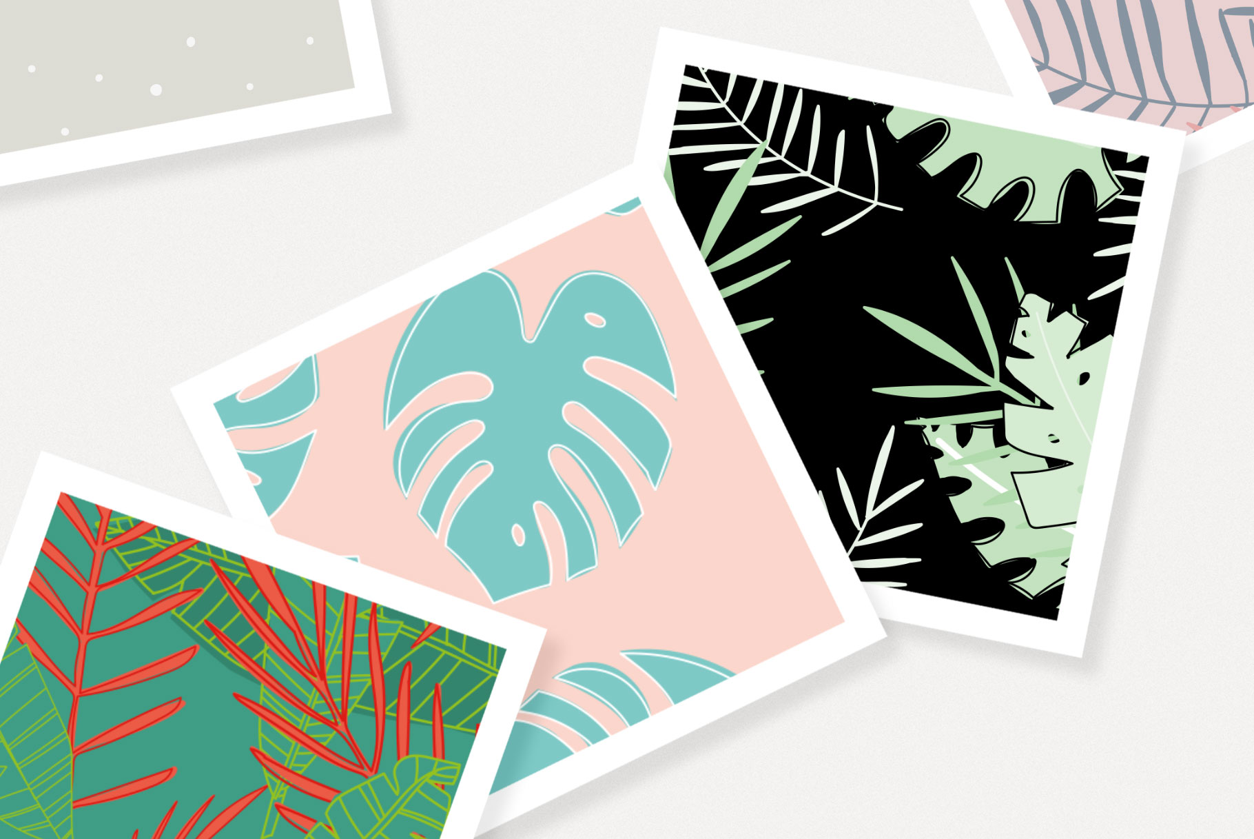 200 Vector Patterns Bundle example image 3