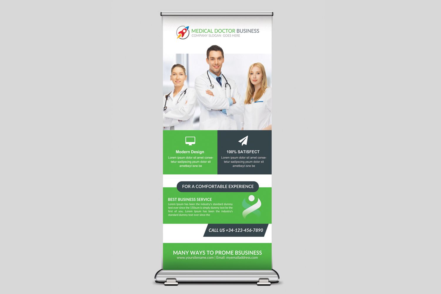 Medical Rollup Banner example image 3