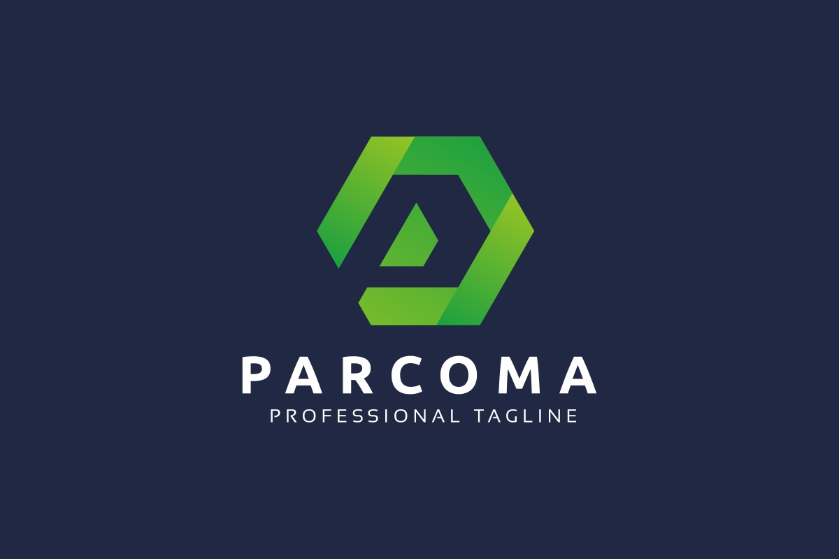 Parcoma P Lettre Logo example image 2