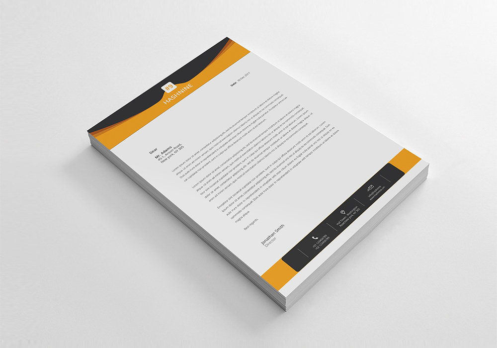 Creative letterhead by hashnine design bundles creative letterhead example image 1 spiritdancerdesigns Image collections