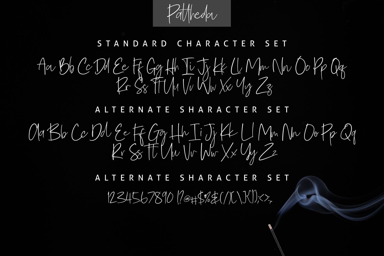 Pattheda Script example image 5