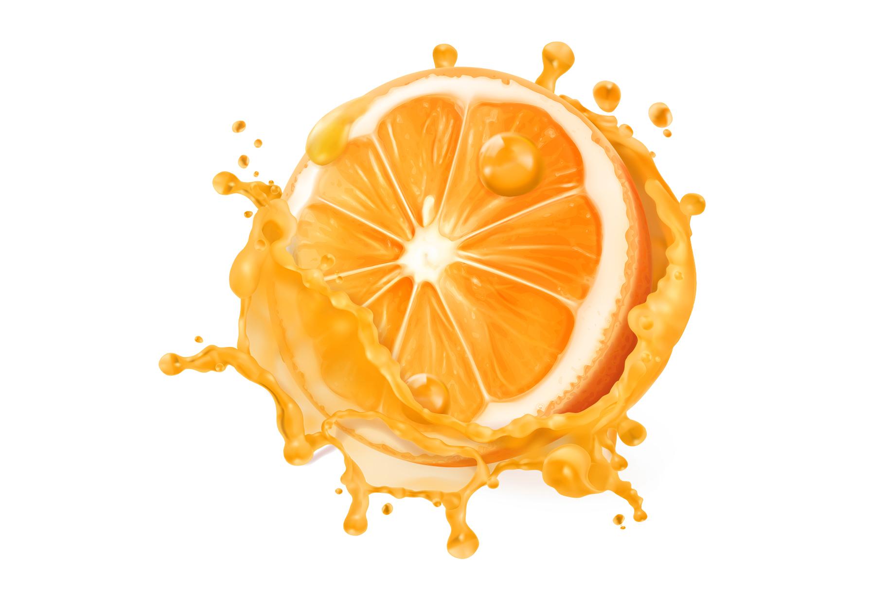 Orange juice, kiwi, banana, tomato juice, watermelon, papaya example image 5