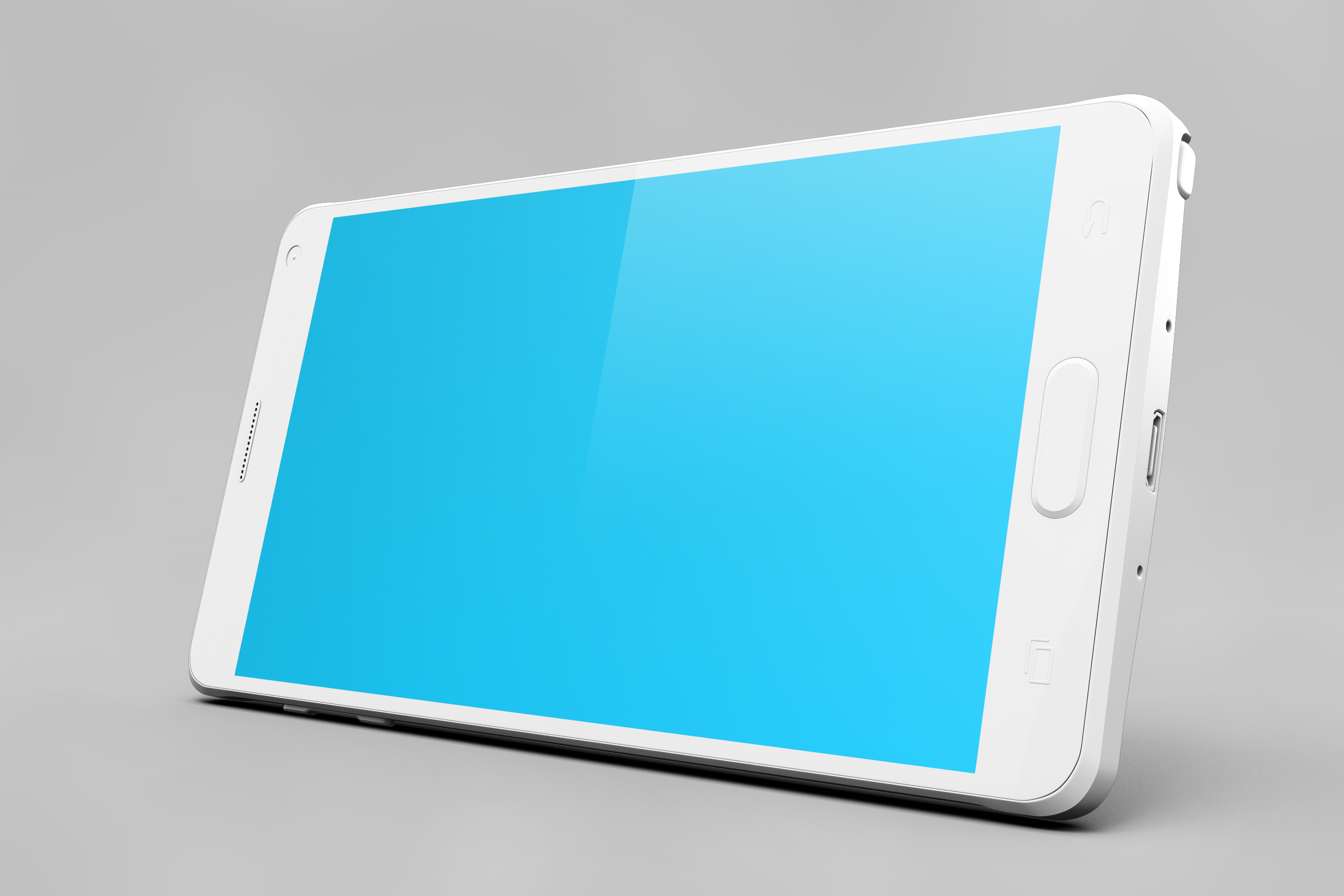 Samsung Galaxy Note 4 Mock-up example image 19