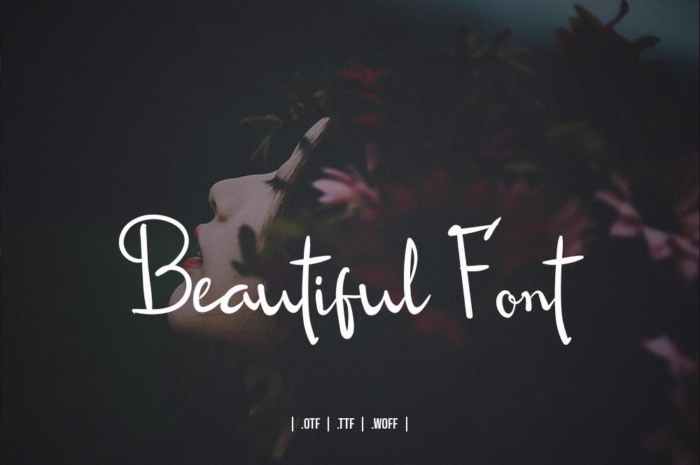 Roseline Script Font example image 2