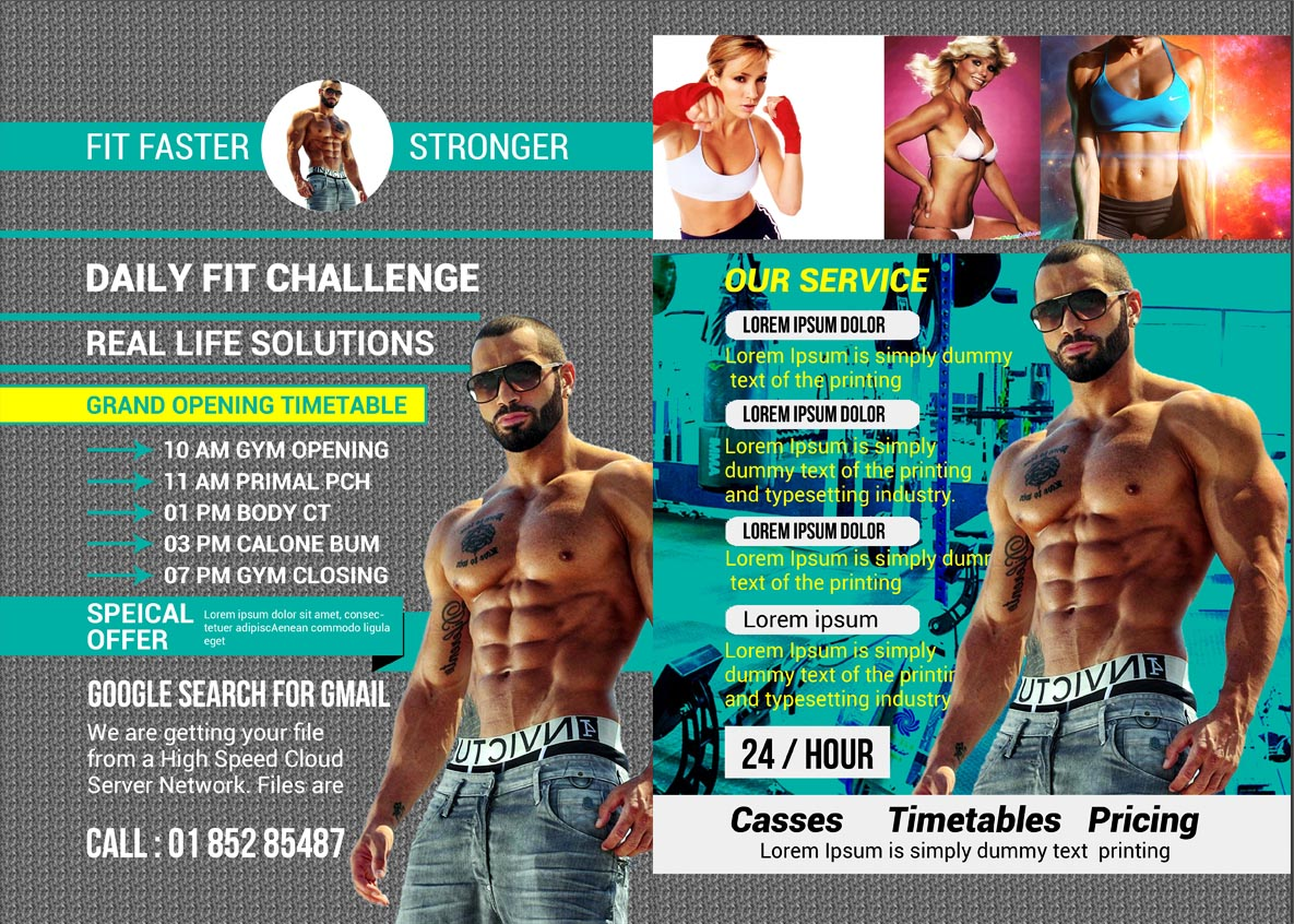 Fitnees Flyer example image 5