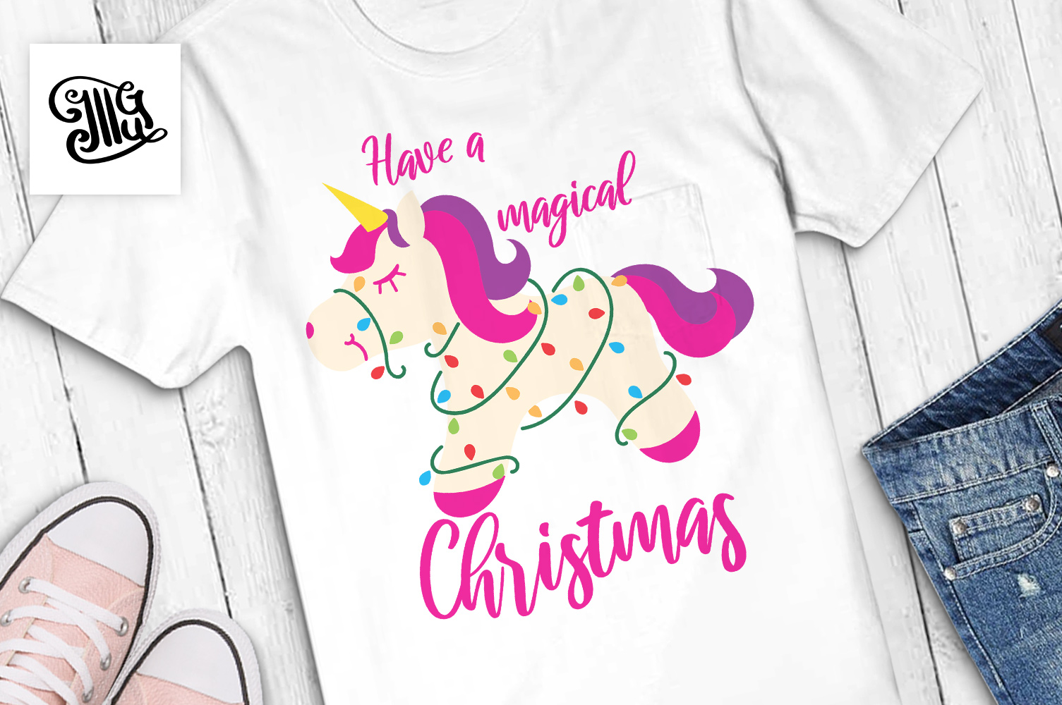 Have a magical Christmas - kids example image 1