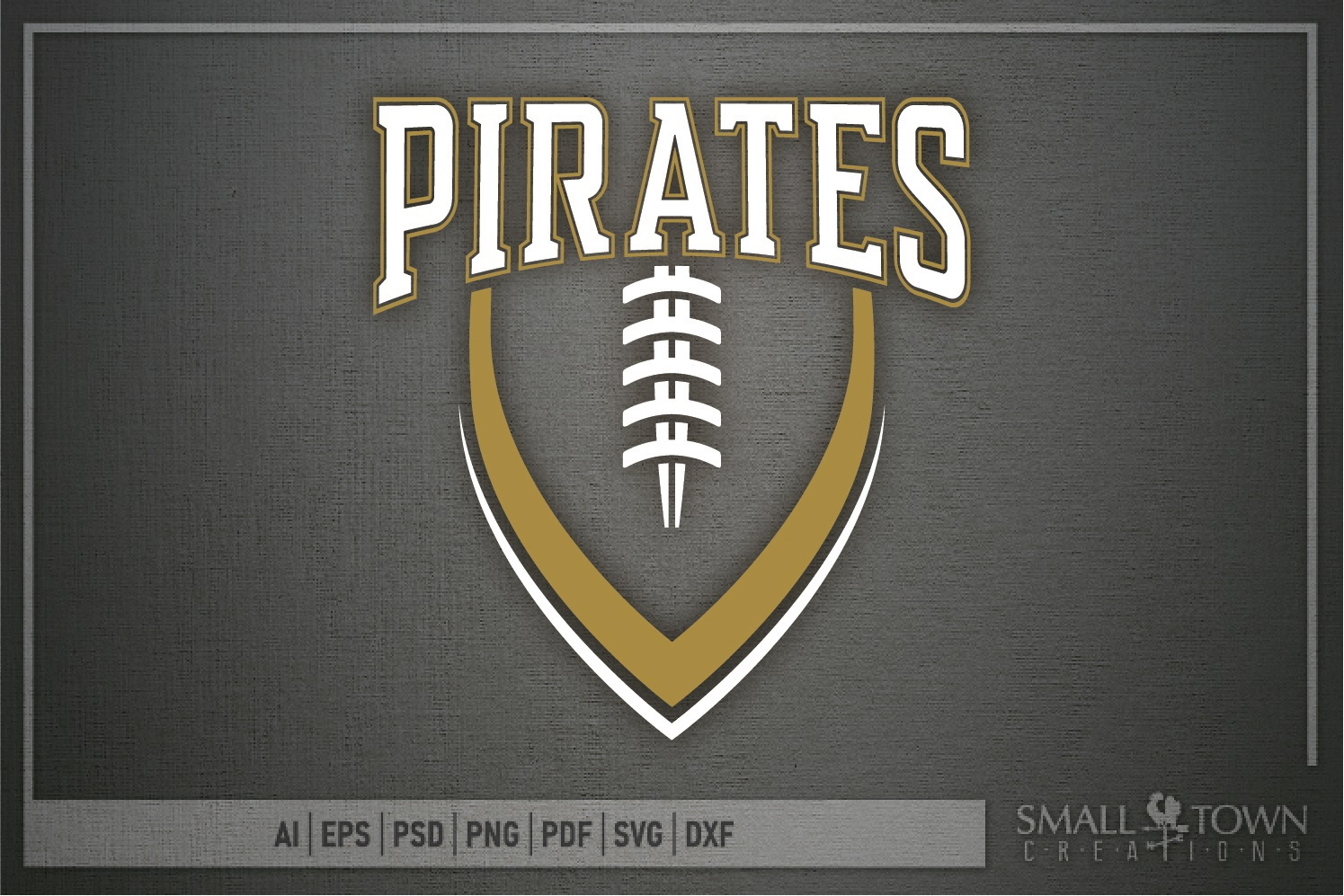 Pirate, Football, Sports, Design, Logo, PRINT, CUT, DESIGN example image 5