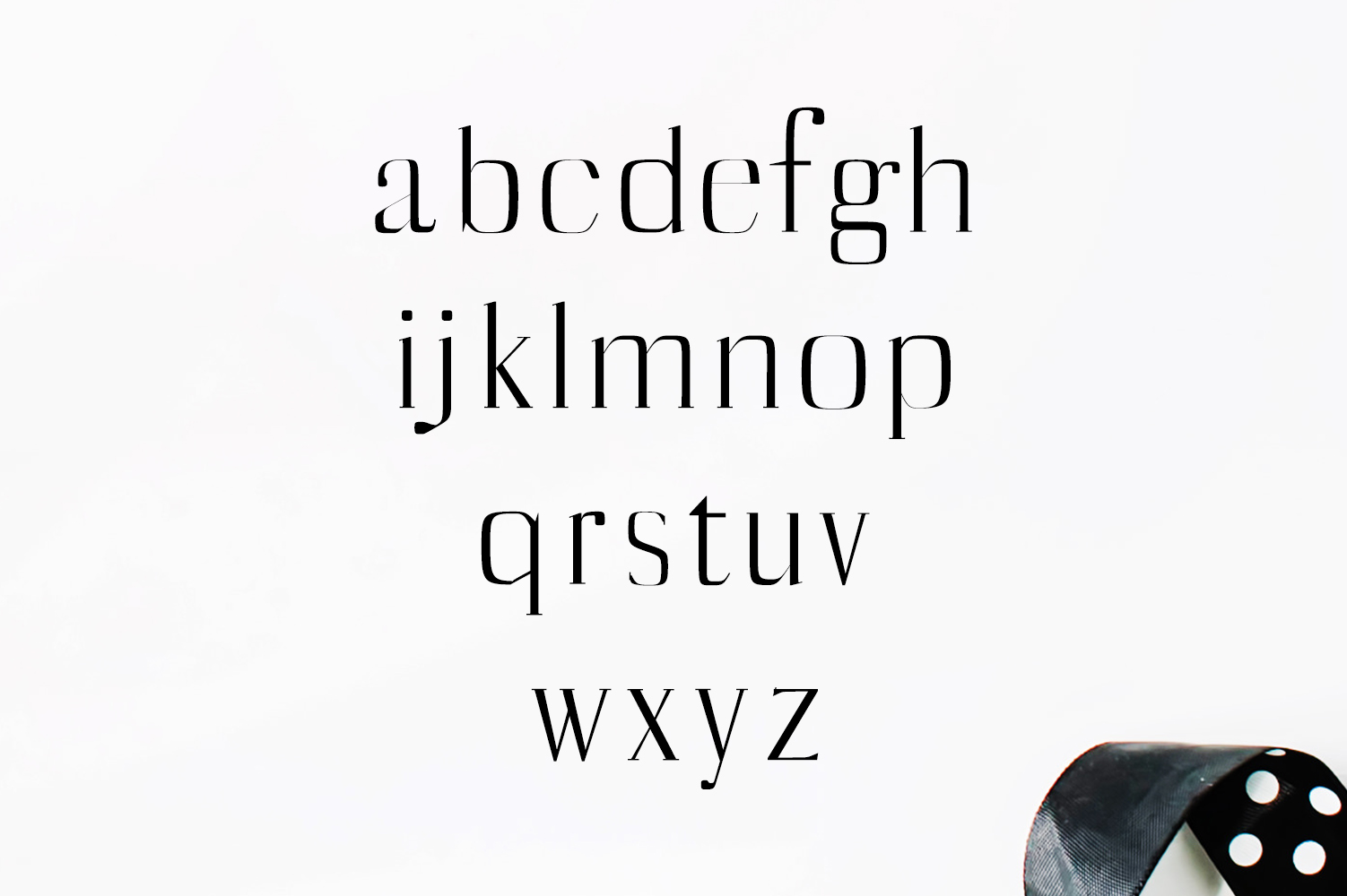 Catheryn Serif 4 Font Family Pack example image 3
