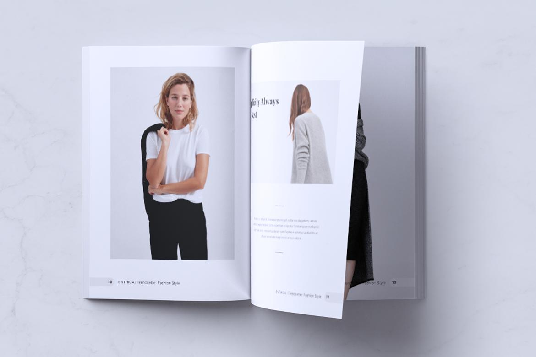 ENTHICA Fashion Magazines example image 6