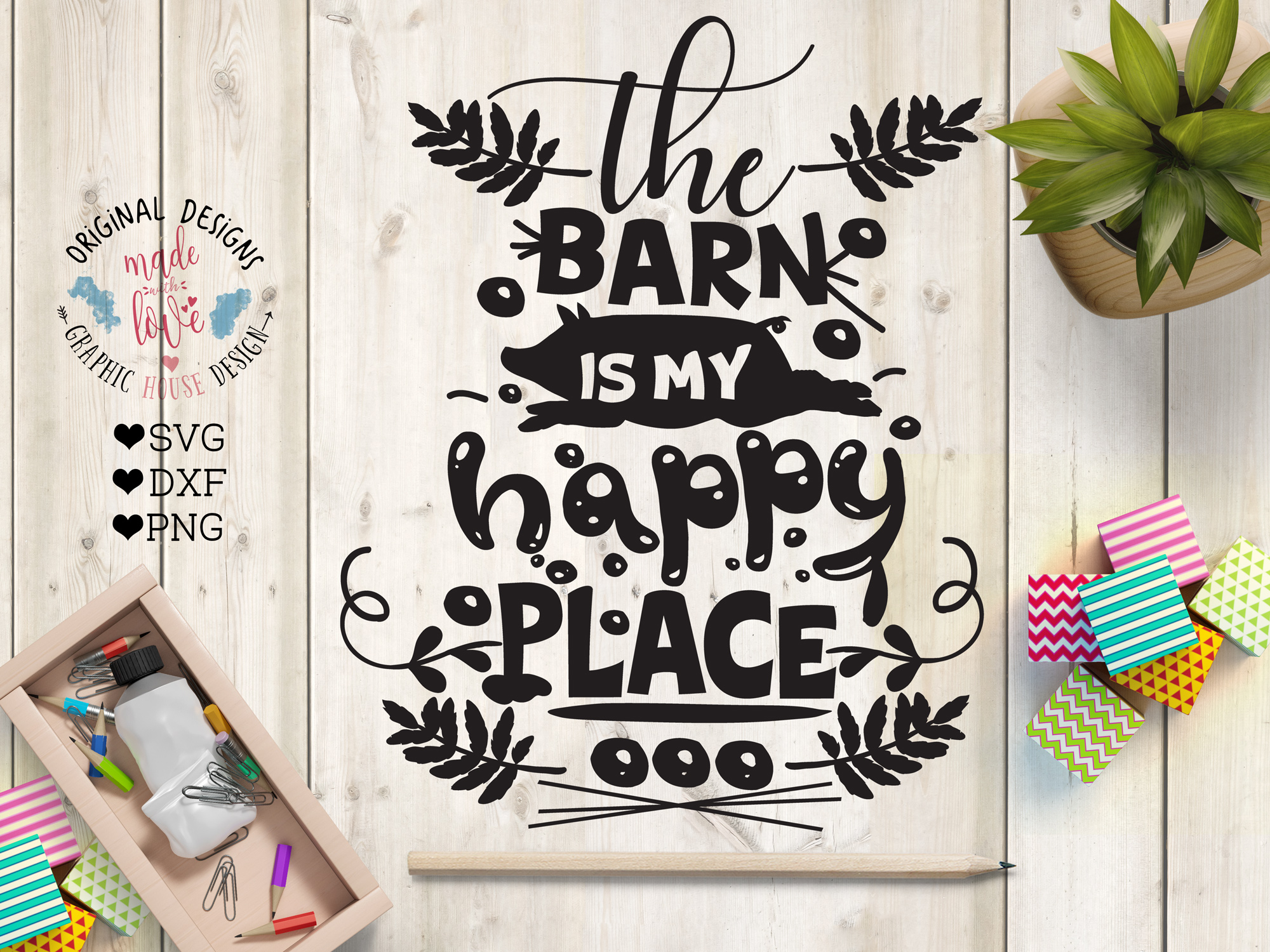 The Barn is my Happy Place example image 1