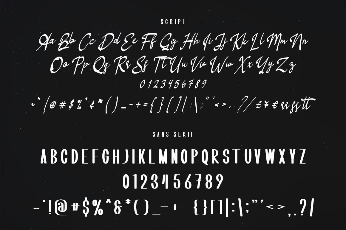 Shoneratty Chika Typeface example image 9