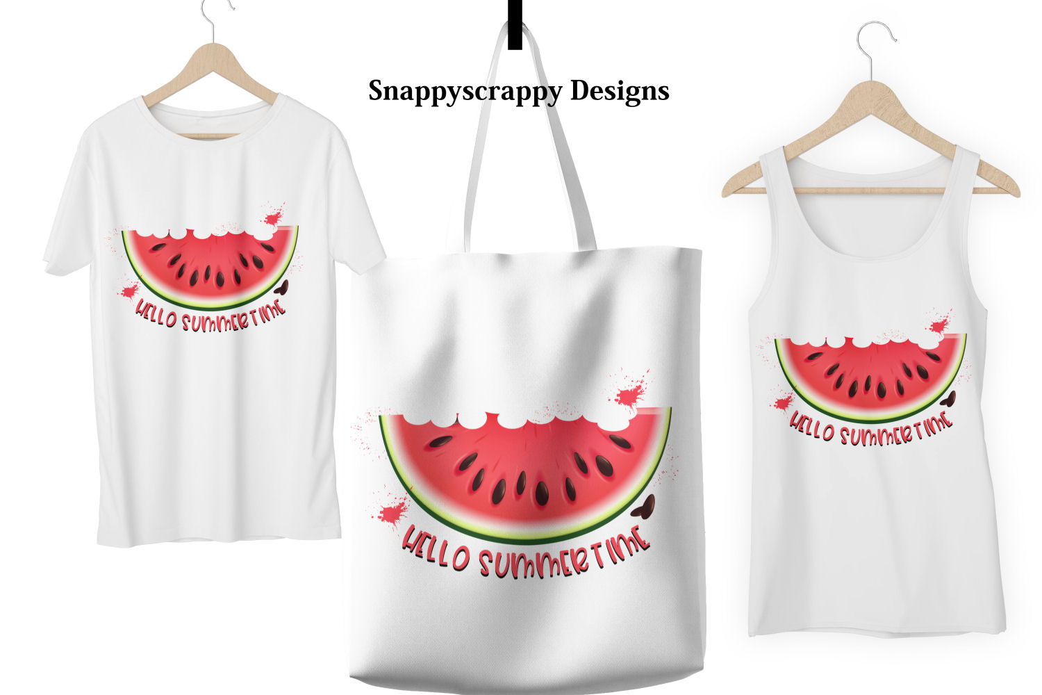 Hello Summertime Melon Sublimation example image 2