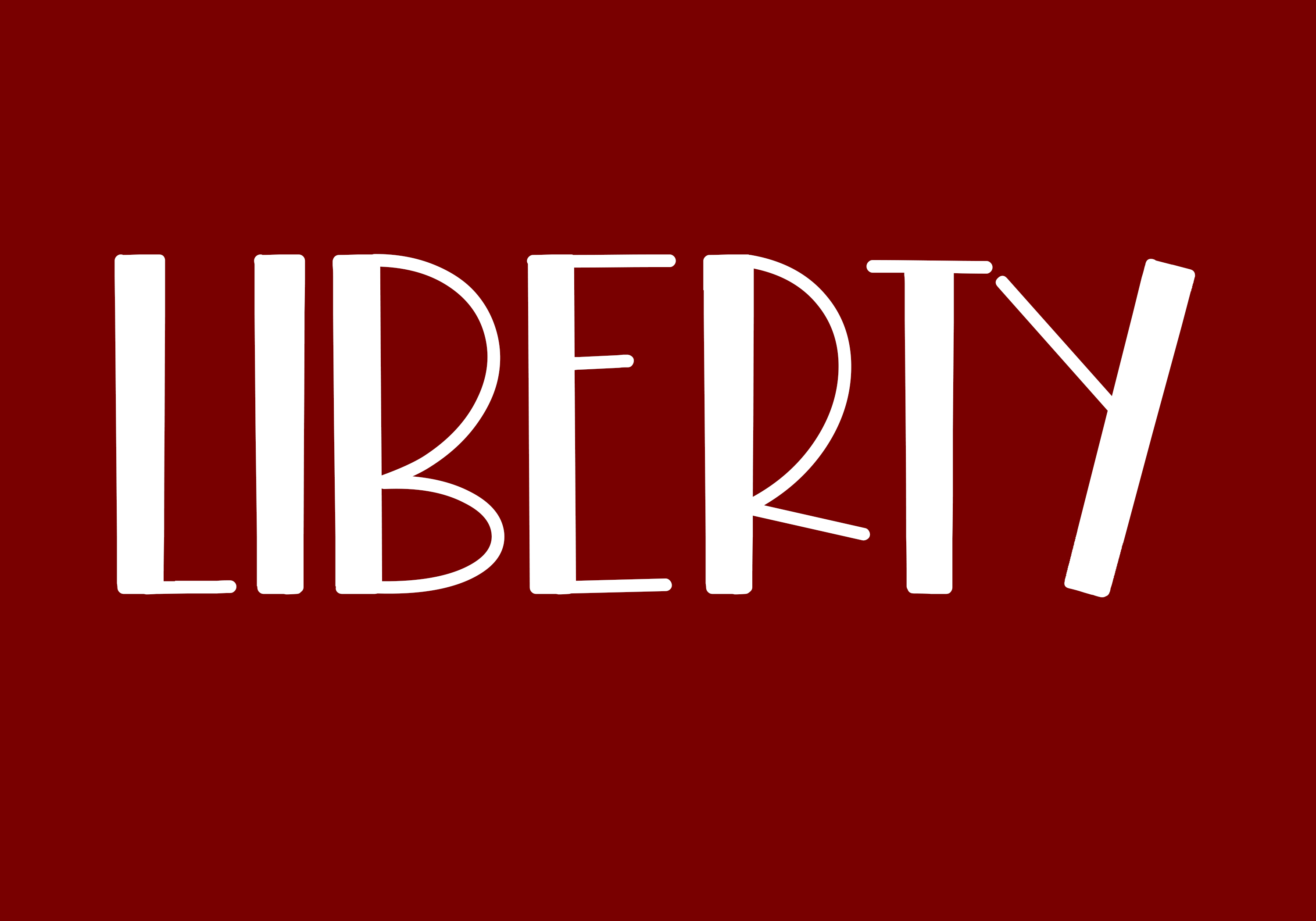 Freedom - A Fun Patriotic Font example image 4