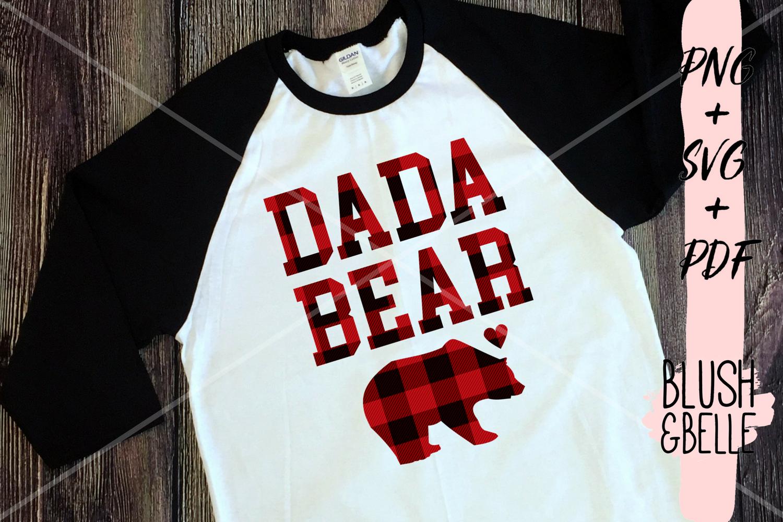 Dada Bear PNG, SVG, PDF example image 1