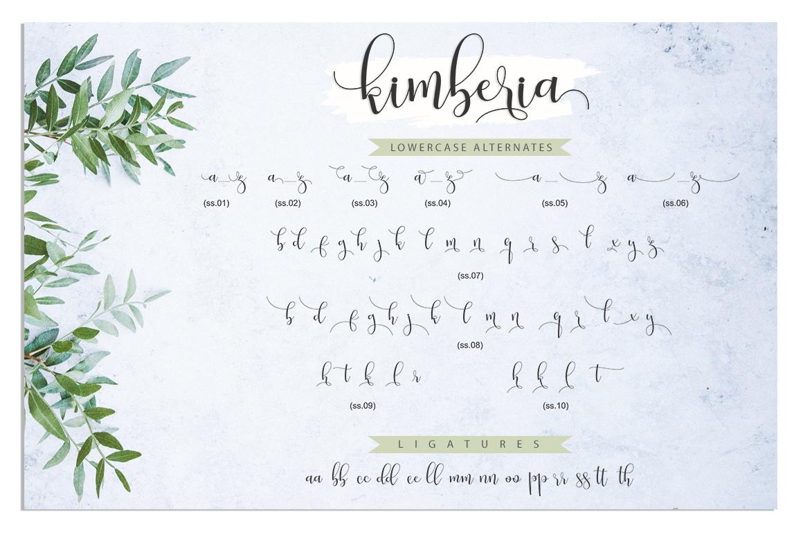 Kimberia Script example image 10
