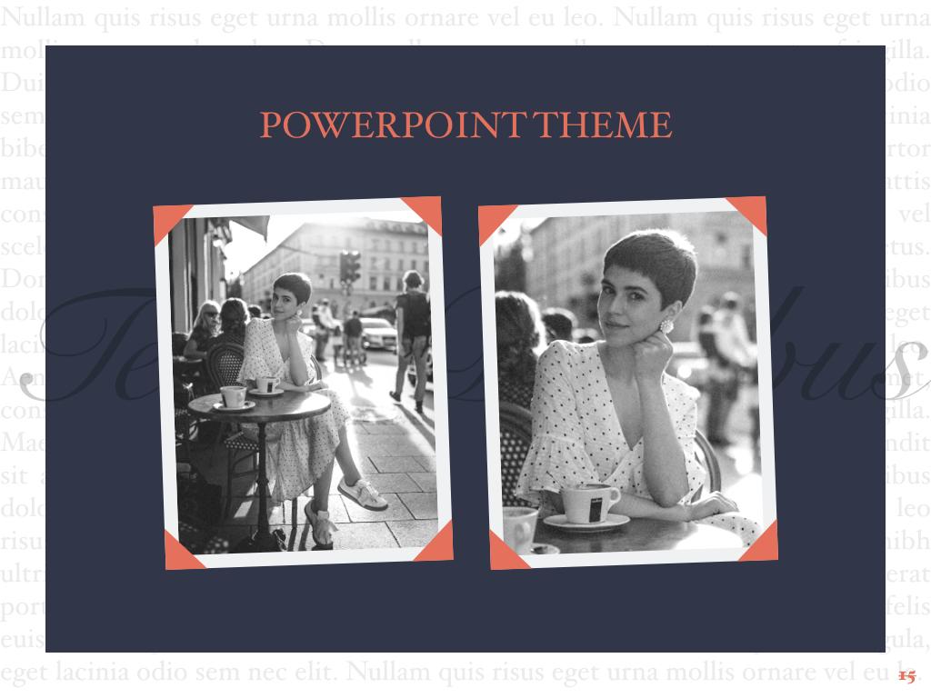 Vintage Album PowerPoint Template