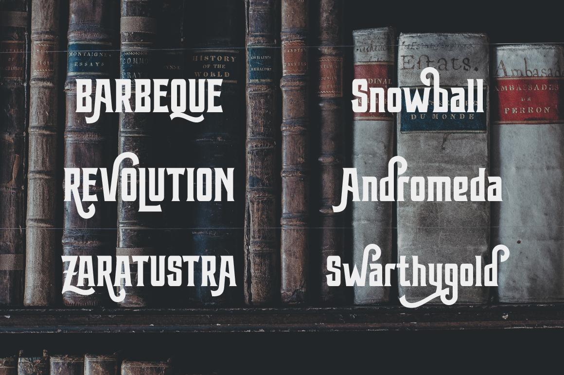 Arterfak Font Bundle II example image 26