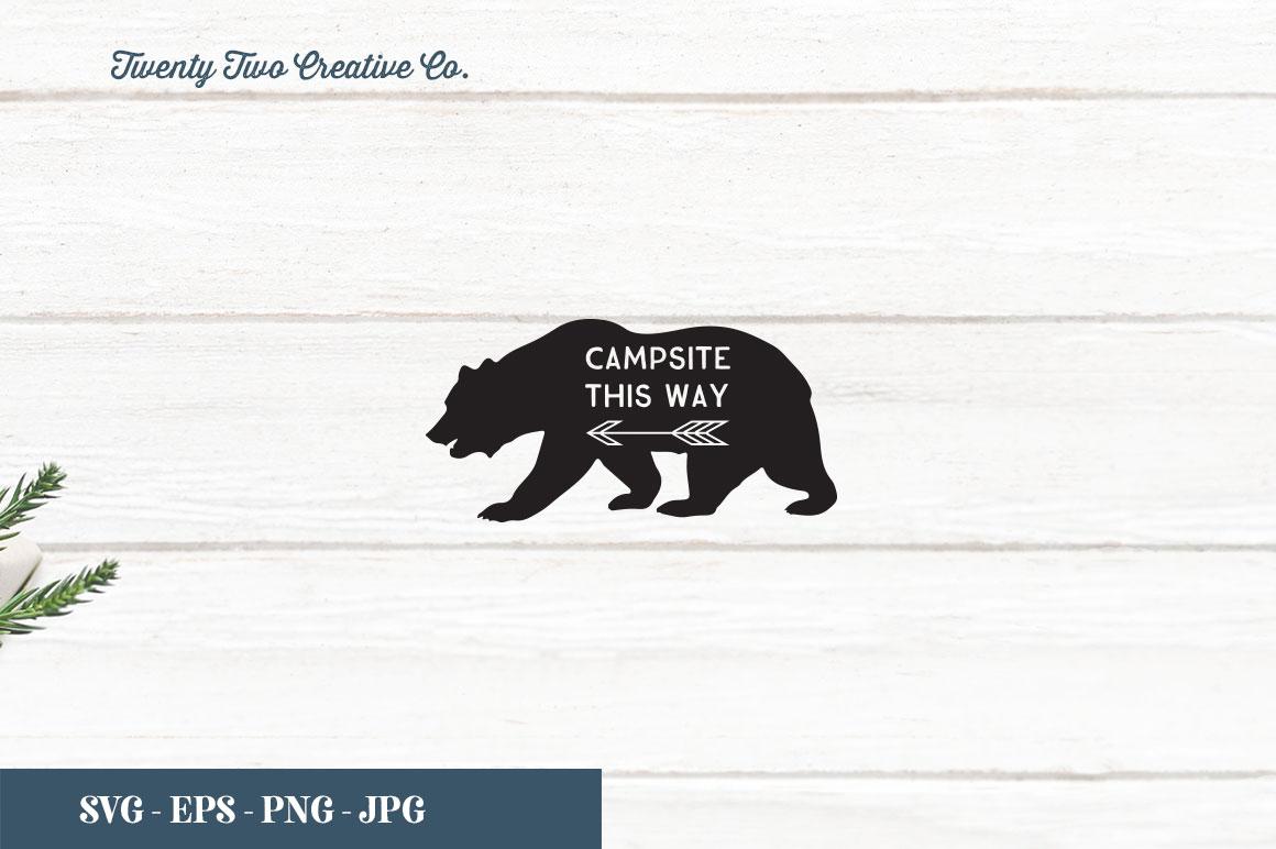 Camping SVG Bundle   SVG, EPS, PNG, JPG example image 24
